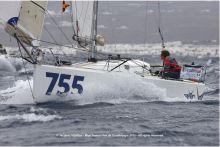 Départ du 755 We Van de Lanzarote Mini Transat Iles de Guadeloupe 01